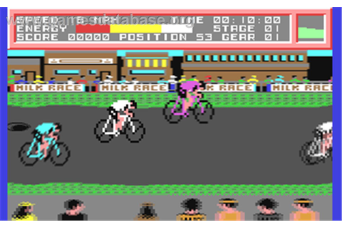 Milk Race - Commodore 64 - Games Database