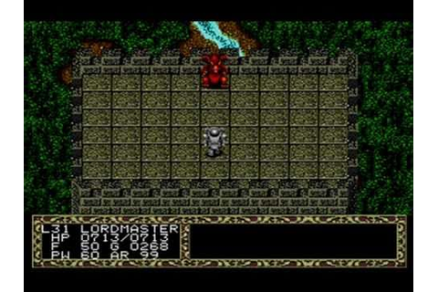 Fatal Labyrinth Ending and Boss fight, Genesis/ Megadrive ...