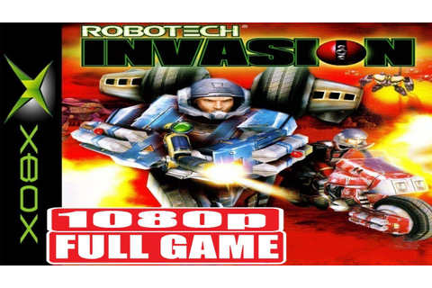 Robotech Invasion | FULL GAME | 1080p [XBOX] NoCommentary ...