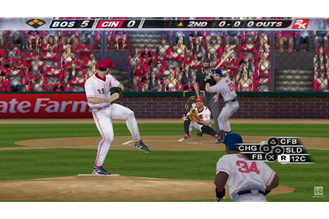 Major League Baseball 2K8 PSP Gameplay HD - YouTube