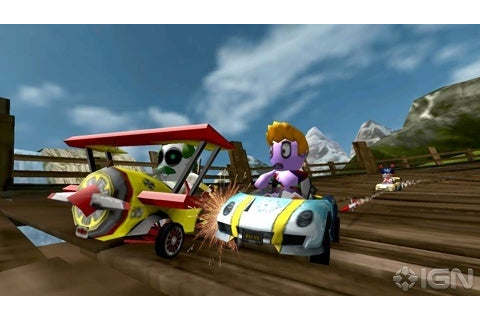 GDC 10: ModNation Racers PSP Hands-on - IGN