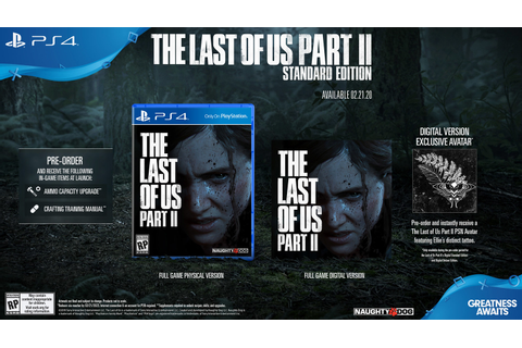 The Last of Us Part II Arrives on February 21 May 29, 2020 ...