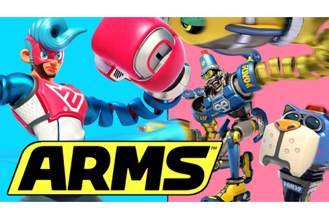 ARMS Nintendo Switch Trailer | Nintendo's EPIC New ...
