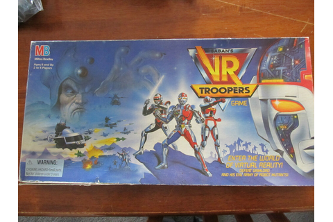 SABAN's VR TROOPERS....Board Game....excellent condition ...