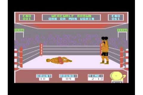 Barry McGuigan World Championship Boxing (C64) - YouTube