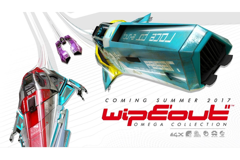 WipEout Omega Collection Trailer - Cramgaming.com