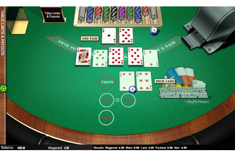How to Play Ultimate Texas Hold'em | Ultimate Holdem Poker