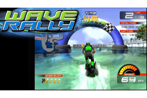 Wave Rally ... (PS2) - YouTube