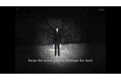 Slender Rising gameplay ipad - YouTube