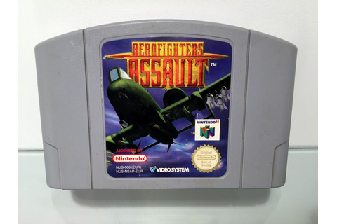 Aerofighters Assault (N64 Modul)