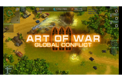 Art Of War 3: Global Conflict - MMO RTS for Android and ...