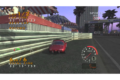 LOL games: Sega GT 2002 for the Xbox! - YouTube