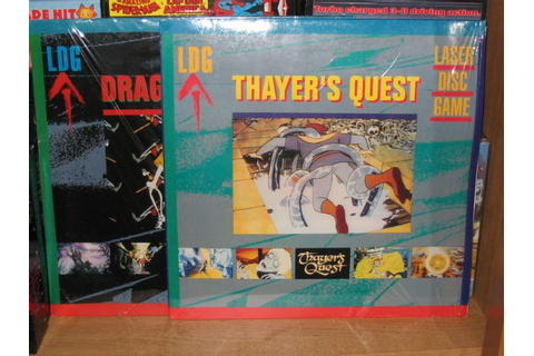 My Passions: Dragon's lair laser disk with Amiga