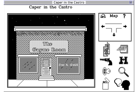 Caper in the Castro Screenshots for Macintosh - MobyGames