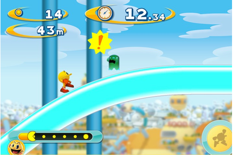 Pac Man Dash Mini review | Flash games reviews and more