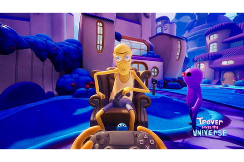 Trover Saves The Universe (PAX 2018 Gameplay from Squanch ...