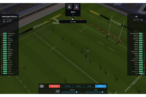Pro Rugby Manager 2015 - Download Free Full Games ...