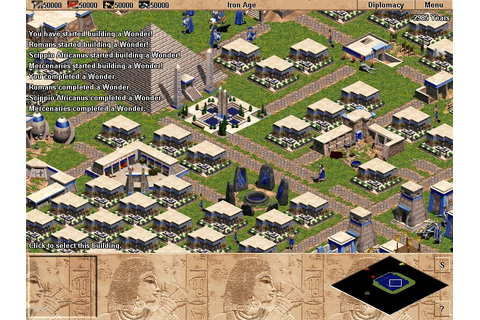 Age Of Empires I + Rise Of Rome Expansion PC Game Download ...