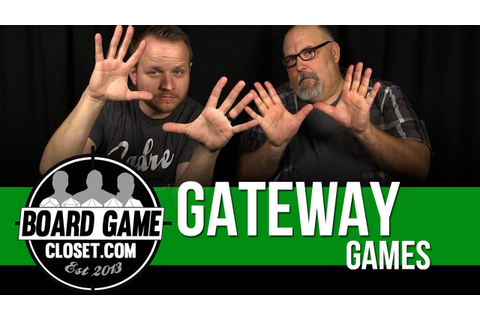 Ten Gateway Games - YouTube