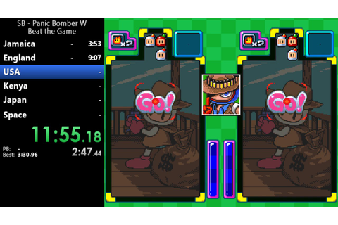 Super Bomberman: Panic Bomber W - Beat the Game - 24:15.31 ...