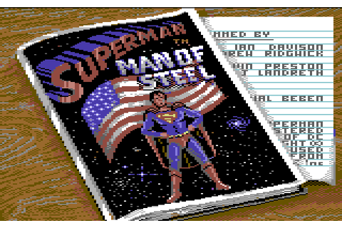 Superman: The Man of Steel (1988) by Tynesoft C64 game