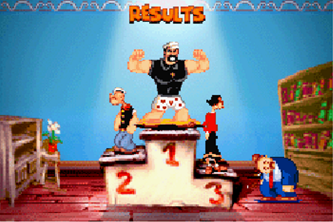 Popeye: Rush for spinach - Symbian game. Popeye: Rush for ...