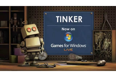 Microsoft Tinker Games for Windows Live Trailer (2009 ...
