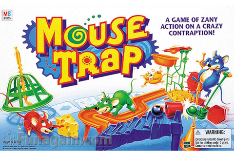 ChrisCrossMedia Blog: Bored 'N' Gaming - Mouse Trap