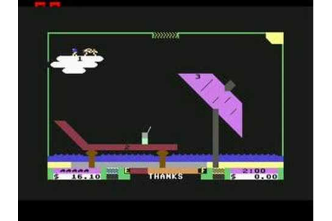 Space Taxi - Commodore 64 - YouTube