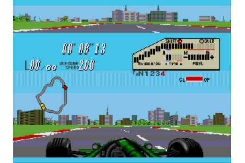 F1 Circus CD (1994) by Video System Mega-CD game