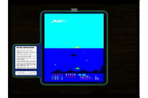 Coin-Op Games 1980 - Polaris (Taito) [MAME] - YouTube