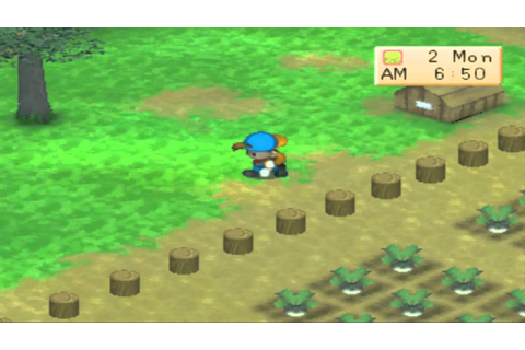 Harvest Moon - Back to Nature - Short Gameplay - YouTube