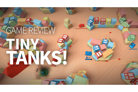 Tiny Tanks! Game Review - YouTube