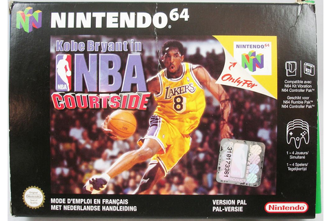 Nintendo 64 - Kobe Bryant in NBA Courtside (PAL Version)