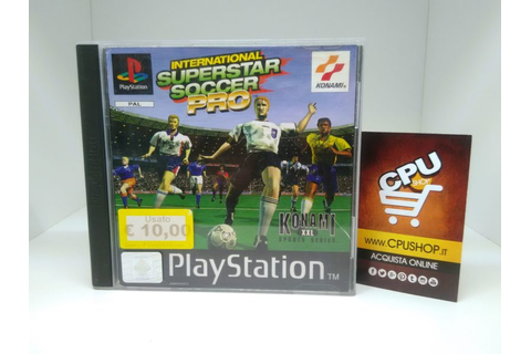 PlayStation 1 - INTERNATIONAL SUPERSTAR SOCCER PRO by ...