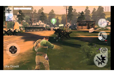 Android Brothers in Arms 3 [BIA3 Sons Of War] XP Level ...