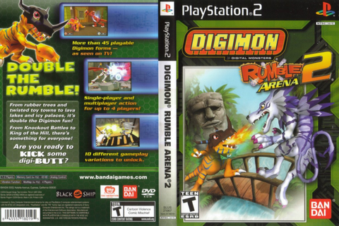 G & V Informatica: Digimon Rumble Arena 2