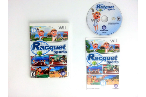 Racquet Sports game for Wii (Complete) | The Game Guy