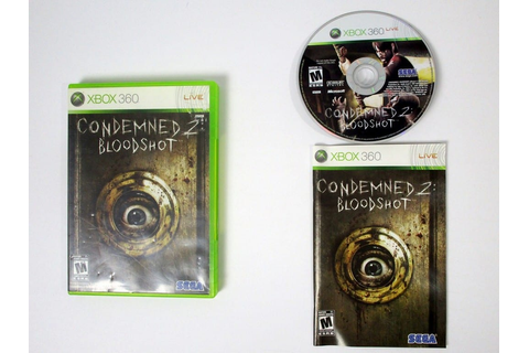 Condemned 2 Bloodshot game for Xbox 360 (Complete) | The ...
