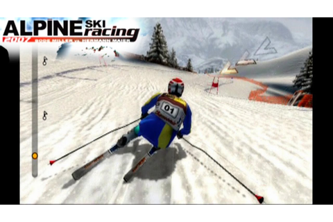 Alpine Ski Racing 2007 ... (PS2) - YouTube