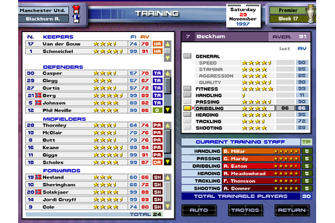 Download Premier Manager 98 (Windows) - My Abandonware