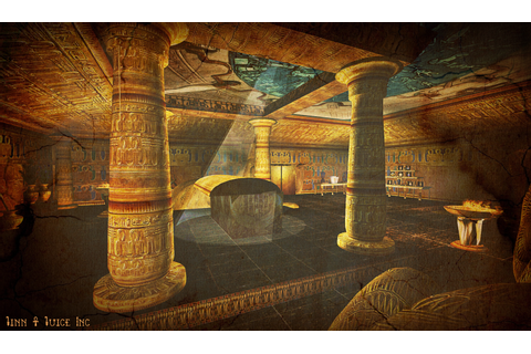 SL Destinations: The Pharaoh's Tomb | Jinn & Juice Inc.