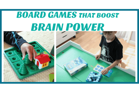 Board games that boost brain power! SmartGames review ...