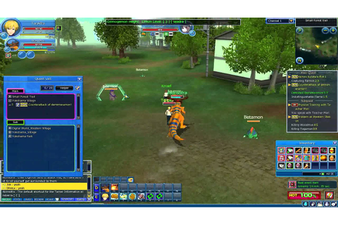 Digimon Masters Online Gameplay (free online pc game ...