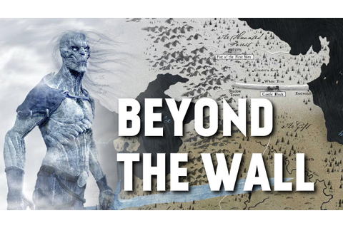 Beyond the Wall - Map Detailed (Game of Thrones) - YouTube