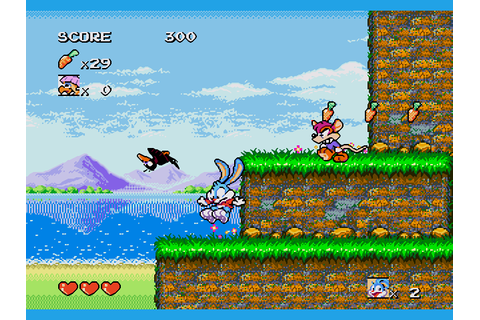 Tiny Toons - Buster's Hidden Treasure Download Game ...