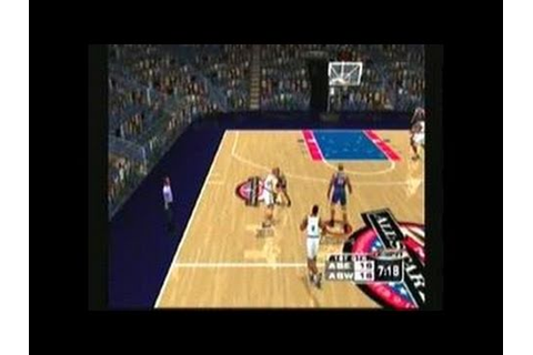 ESPN NBA 2Night Dreamcast Gameplay_2000_11_16 - YouTube