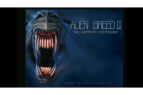 Alien Breed II: The Horror Continues - Amiga Game Intro ...