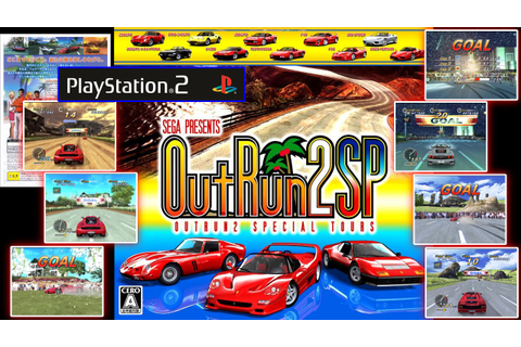 Outrun 2 SP - Japanese PS2, all Goals - YouTube