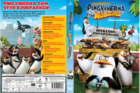 COVERS.BOX.SK ::: The Penguins of Madagascar - Operation ...